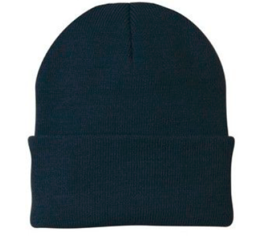 Knitted Stocking Cap - Navy